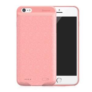 Купить Чехол-аккумулятор Baseus Plaid Backpack 7300mAh Pink для iPhone 6 Plus/6s Plus