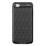 Чехол-аккумулятор Baseus Plaid Backpack 2500mAh Black для iPhone 7/8