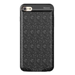Купить Чехол-аккумулятор Baseus Plaid Backpack 2500mAh Black для iPhone 7/8