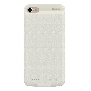 Купить Чехол-аккумулятор Baseus Plaid Backpack 2500mAh Beige для iPhone 7/8