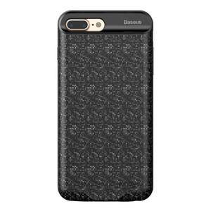 Купить Чехол-аккумулятор Baseus Plaid Backpack 3650mAh Black для iPhone 7 Plus/8 Plus