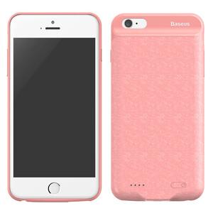 Купить Чехол-аккумулятор Baseus Plaid Backpack 2500mAh Pink для iPhone 6/6S