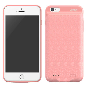Купить Чехол-аккумулятор Baseus Plaid Backpack 3650mAh Pink для iPhone 6 Plus/6s Plus