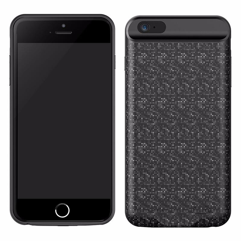 Чехол-аккумулятор Baseus Plaid Backpack 3650mAh Black для iPhone 6 Plus 6s  Plus 4d0e9d9dd2dd9