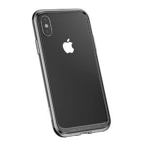 Купить Металлический бампер Baseus Platinum Metal Border Black для iPhone X/XS