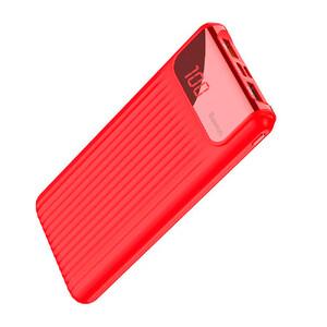 Купить Внешний аккумулятор с дисплеем Baseus Thin Digital Power Bank 10000mAh Red