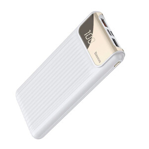 Купить Внешний аккумулятор с дисплеем Baseus Thin Digital Power Bank 10000mAh White