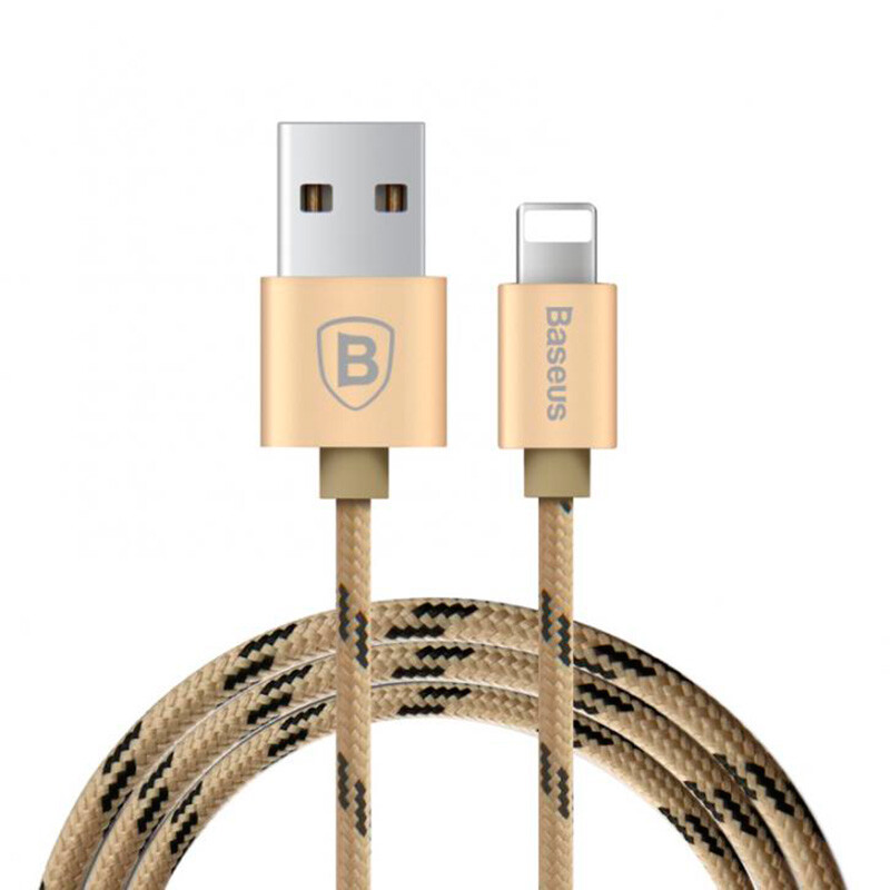 Кабель Baseus Rapid Series Luxury Gold Lightning to USB