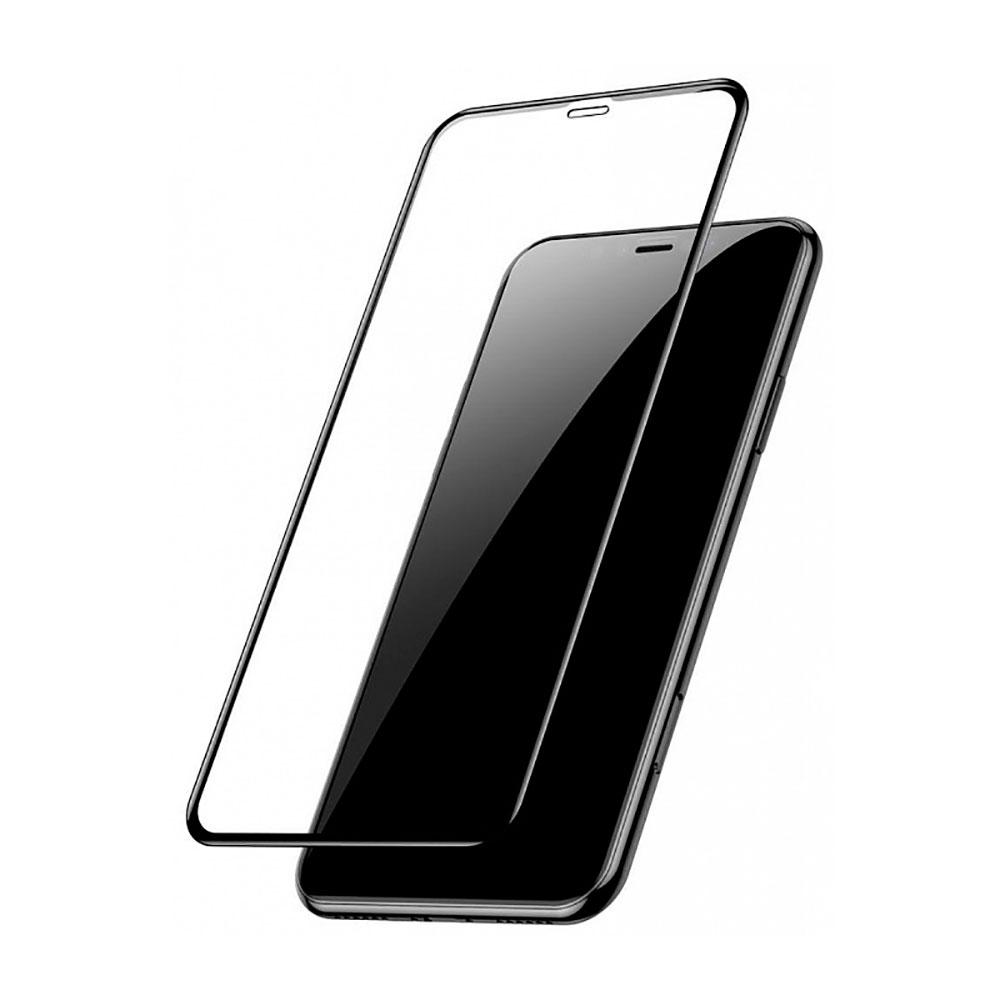 Купить Защитное стекло Baseus Arc Surface Rigid Edge Full Screen Tempered Glass для iPhone 11 | XR