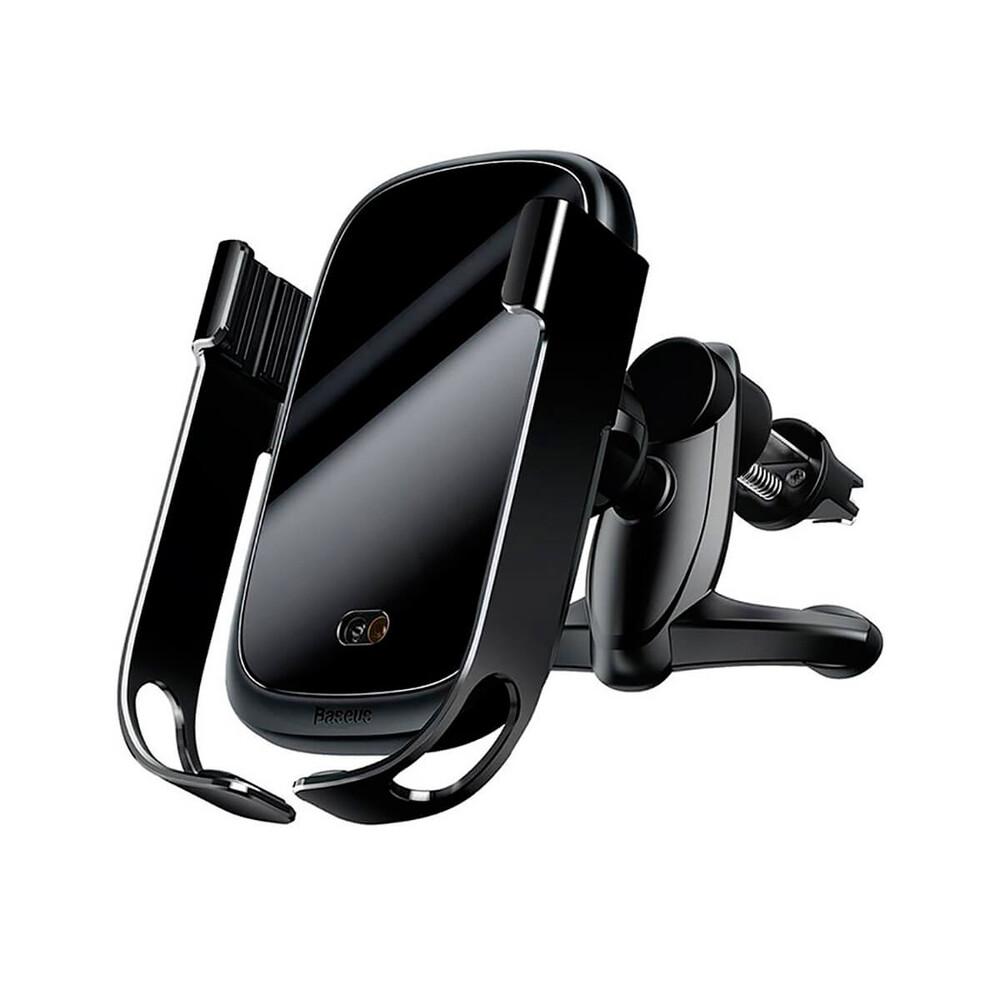 Купить Автодержатель с беспроводной зарядкой Baseus Rock-Solid Car Holder Black