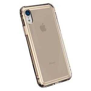 Купить Противоударный чехол Baseus Safety Airbags Transparent Gold для iPhone XR