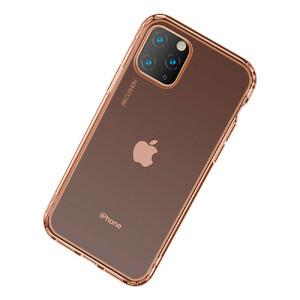 Купить Противоударный чехол Baseus Safety Airbags Transparent Gold для iPhone 11 Pro Max