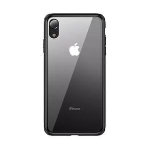 Купить Стеклянный чехол Baseus See-Through Black для iPhone XR