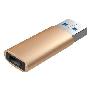 Купить Переходник Baseus Sharp Series USB to USB Type-C Gold