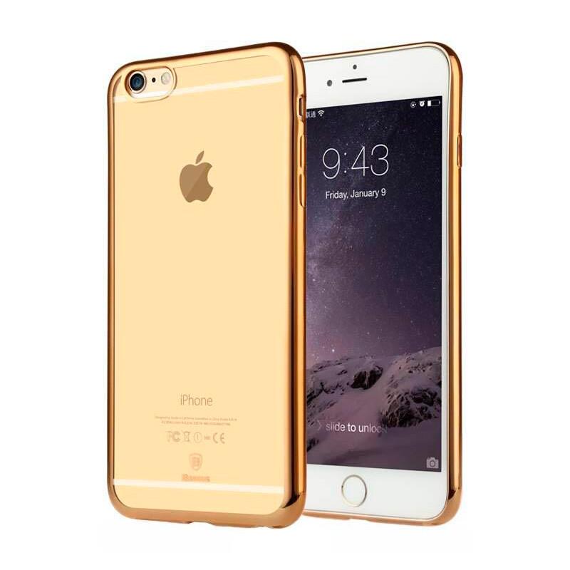 Ультратонкий чехол Baseus Shining Case Gold для iPhone 6/6s