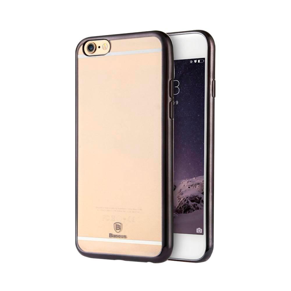 Ультратонкий чехол Baseus Shining Case Gunmetal для iPhone 6/6s