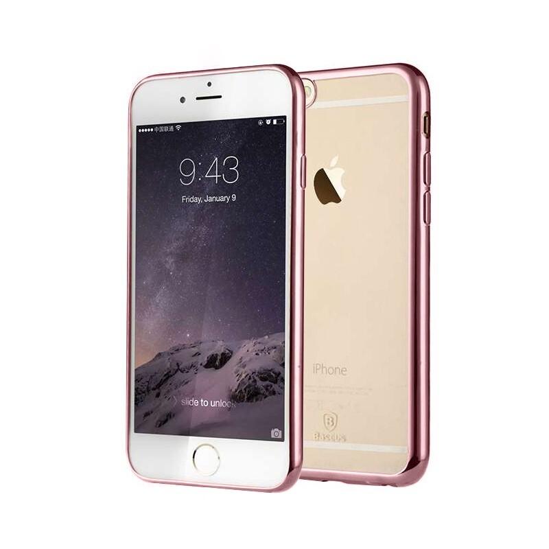 Ультратонкий чехол Baseus Shining Case Rose для iPhone 6/6s