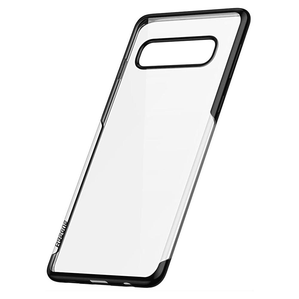 Купить Силиконовый чехол Baseus Shining Case для Samsung S10 Plus