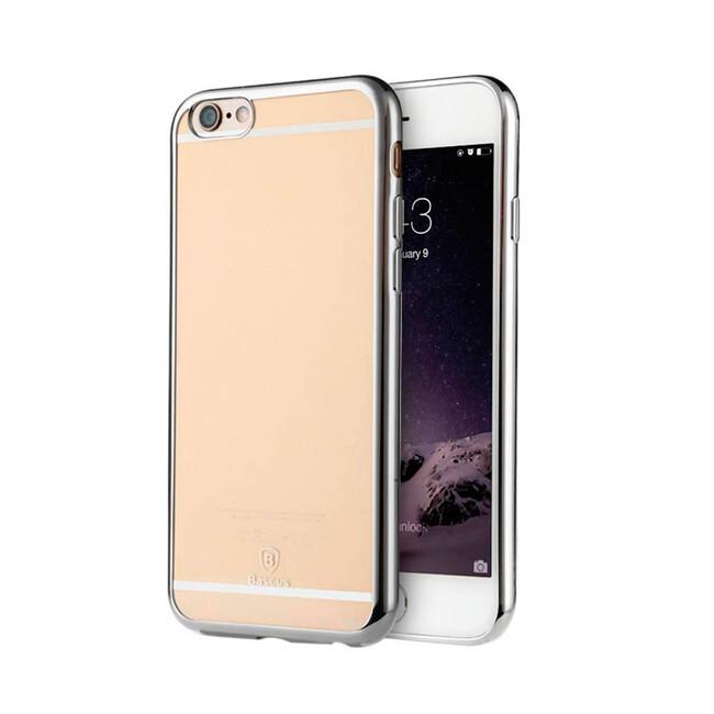 Ультратонкий чехол Baseus Shining Case Silver для iPhone 6/6s