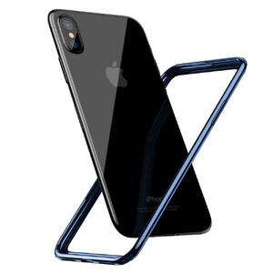 Купить Бампер Baseus Border Case Blue для iPhone X