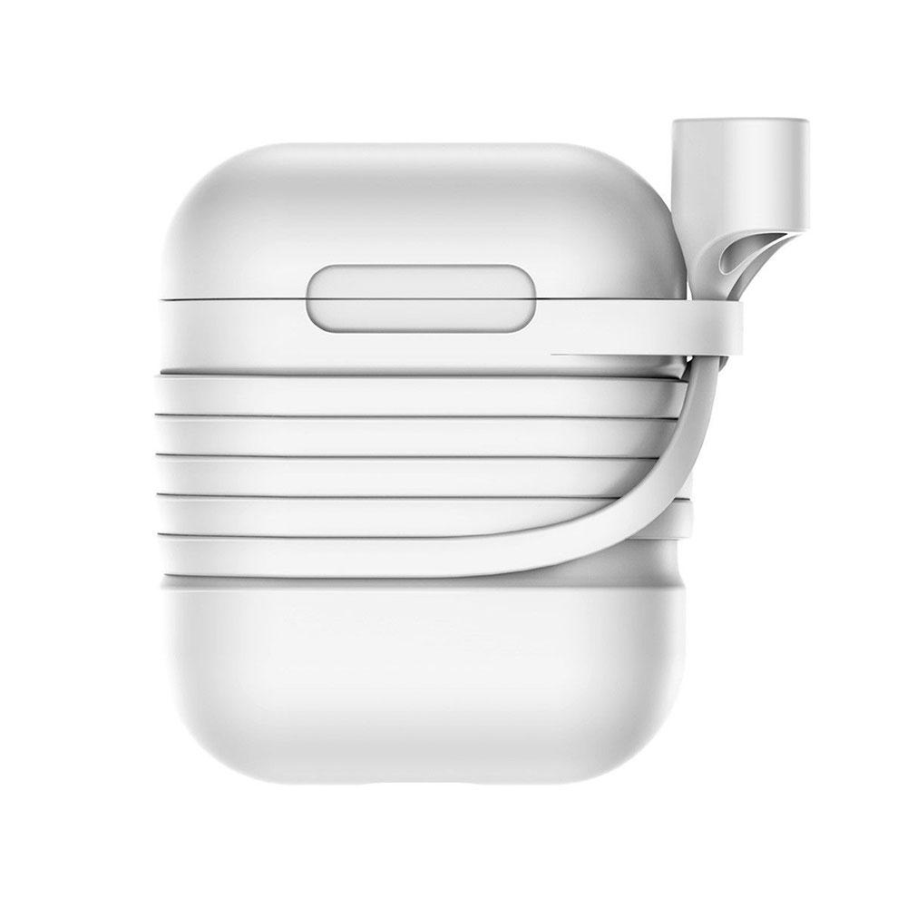 Купить Силиконовый чехол с шнурком Baseus Silicone Case Gray для Apple AirPods