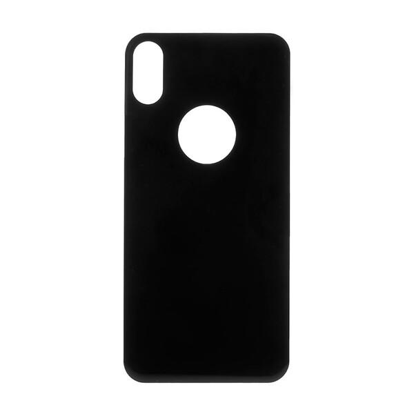 Защитное стекло на заднюю панель Baseus 3D Silk-Screen Back Glass 0.3mm Black для iPhone X | XS