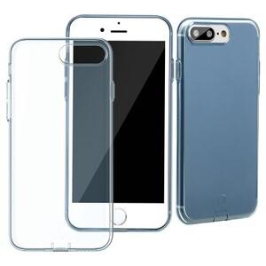 Купить Защитный чехол Baseus Simple Series With Pluggy Transparent/Blue для iPhone 7 Plus