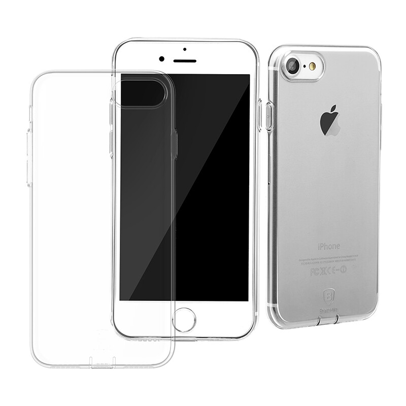 Защитный чехол Baseus Simple Series With Pluggy Transparent для iPhone 7