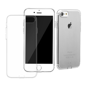 Купить Защитный чехол Baseus Simple Series With Pluggy Transparent для iPhone 7/8