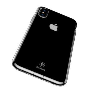 Купить Защитный чехол Baseus Simple Series With Pluggy Transparent для iPhone X