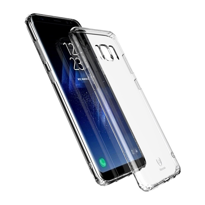 Защитный чехол Baseus Simple Series Transparent для Samsung Galaxy S8