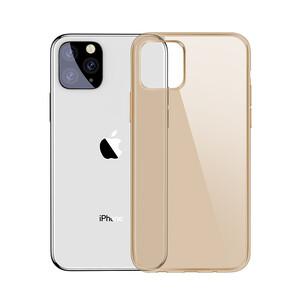 Купить Чехол Baseus Simplicity Series Transparent Gold для iPhone 11 Pro Max