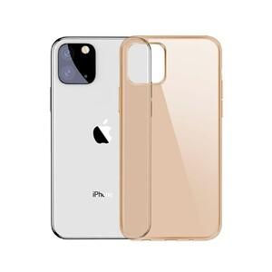 Купить Чехол Baseus Simplicity Series Transparent Gold для iPhone 11