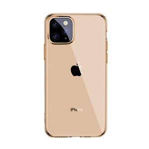 Купить Чехол Baseus Simplicity Series Transparent Gold для iPhone 11 Pro