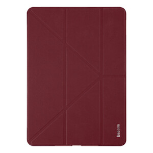 """Купить Кожаный чехол Baseus Simplism Y-Type Wine Red для iPad 9.7"""" (2017/2018)"""