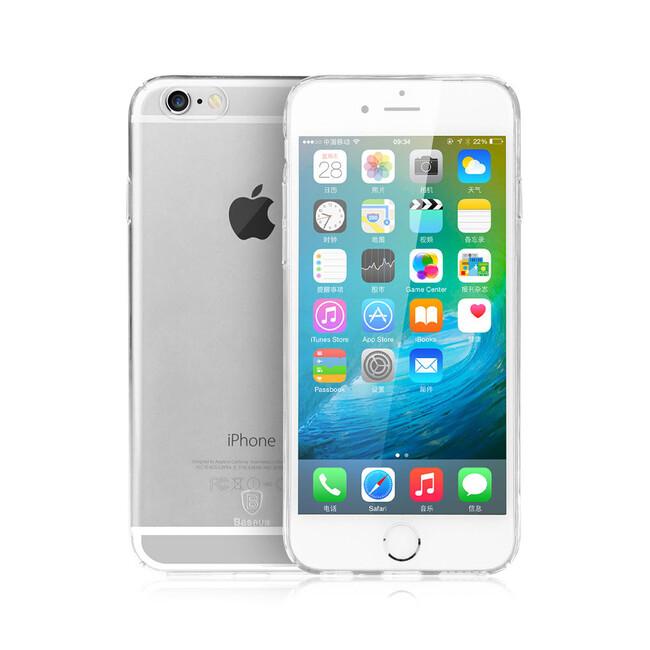 Ультратонкий пластиковый чехол Baseus Sky Case Clear для iPhone 6s/6