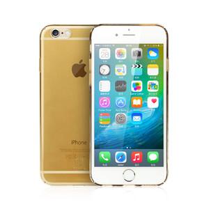 Купить Ультратонкий пластиковый чехол Baseus Sky Case Gold для iPhone 6s/6