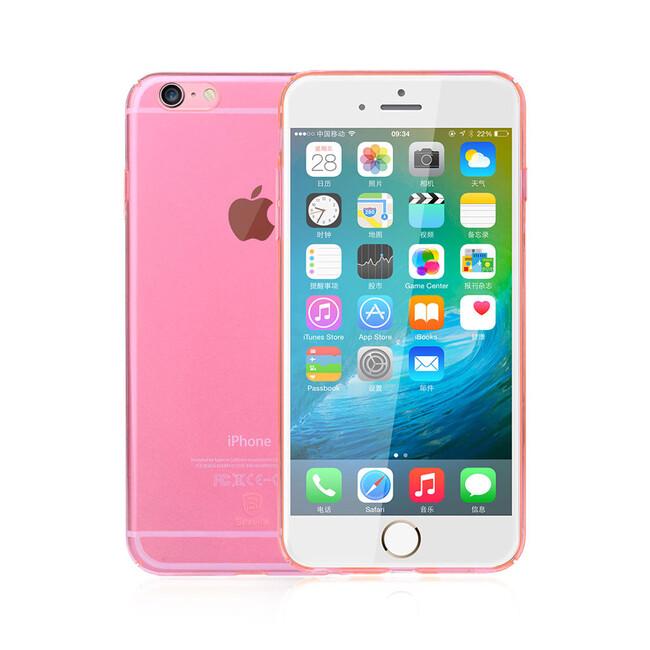 Ультратонкий пластиковый чехол Baseus Sky Case Rose Gold для iPhone 6s/6