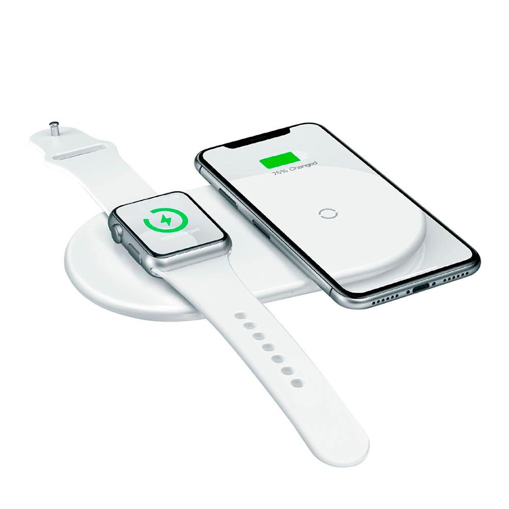 Беспроводная зарядка Baseus Smart 2-in-1 10W для смартфона/iPhone/Apple Watch