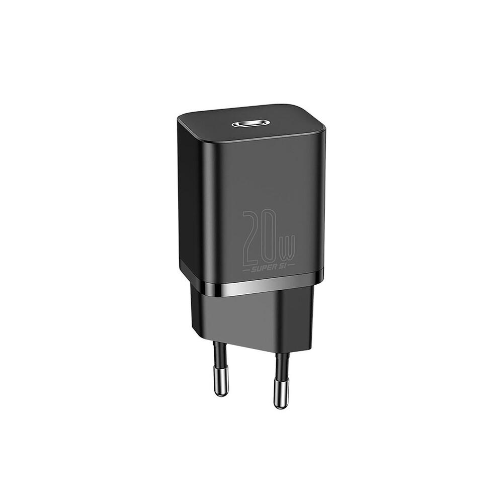 Купить Быстрое зарядное устройство Baseus Super Si USB-C PD 20W (EU) для iPhone | iPad