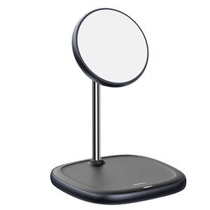 Купить Магнитная беспроводная зарядка Baseus Swan Magnetic Desktop MagSafe Black для iPhone 12 mini | 12 | 12 Pro | 12 Pro Max