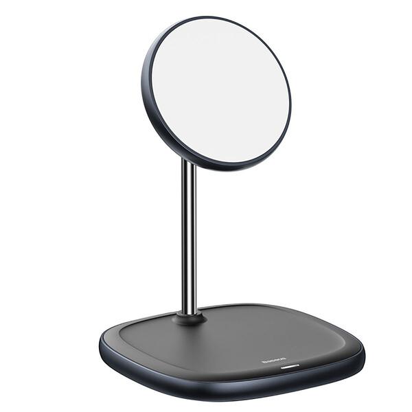 Док-станция Baseus Swan Magnetic Desktop MagSafe Black для iPhone 12 mini | 12 | 12 Pro | 12 Pro Max