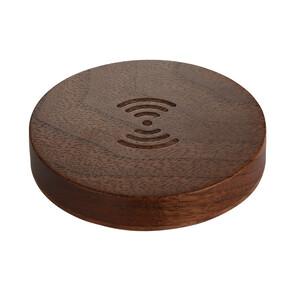 Купить Беспроводное зарядное устройство Baseus Swood Walnut для iPhone/Samsung Galaxy