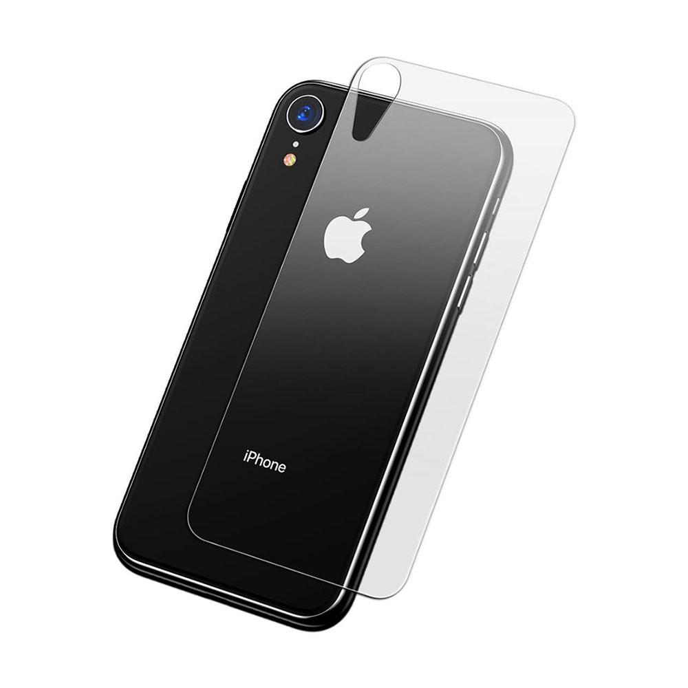 Купить Защитное стекло на заднюю панель Baseus Full Tempered Glass для iPhone XR