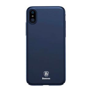 Купить Чехол-накладка Baseus Thin Case Dark Blue для iPhone X
