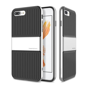 Купить Чехол Baseus Travel TPU+PC Silver для iPhone 7 Plus/8 Plus