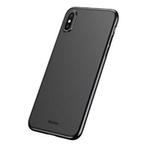 Купить Ультратонкий чехол Baseus Wing Case Black для iPhone X/XS