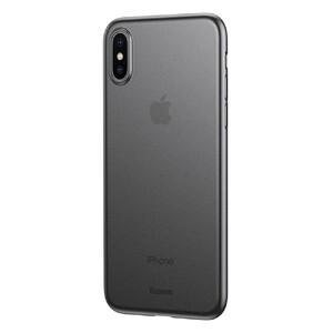Купить Ультратонкий чехол Baseus Wing Case Transparent Black для iPhone XS Max