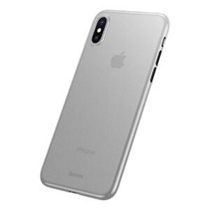 Купить Ультратонкий чехол Baseus Wing Case Transparent White для iPhone X/XS