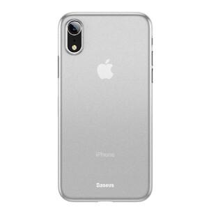 Купить Ультратонкий чехол Baseus Wing Case Transparent White для iPhone XR